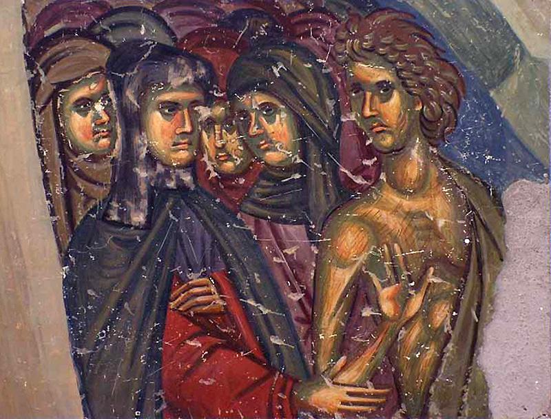 Репродукцијa фреске Богородице Љевишке, Призрен